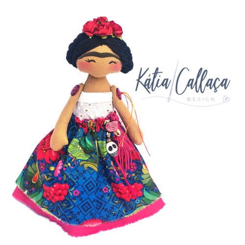 Bonecas Boneca Frida