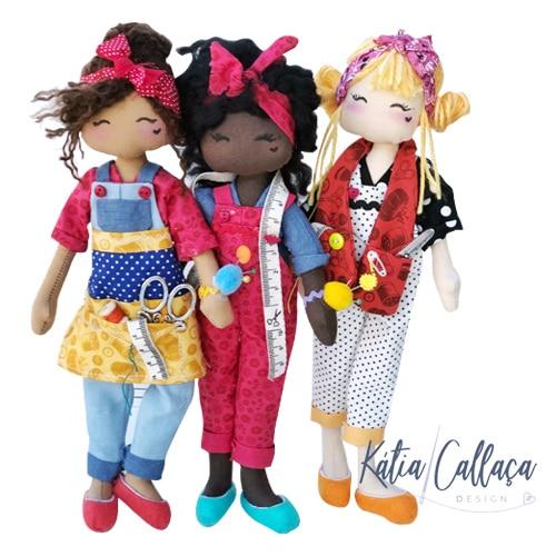 Bonecas Costureirinhas