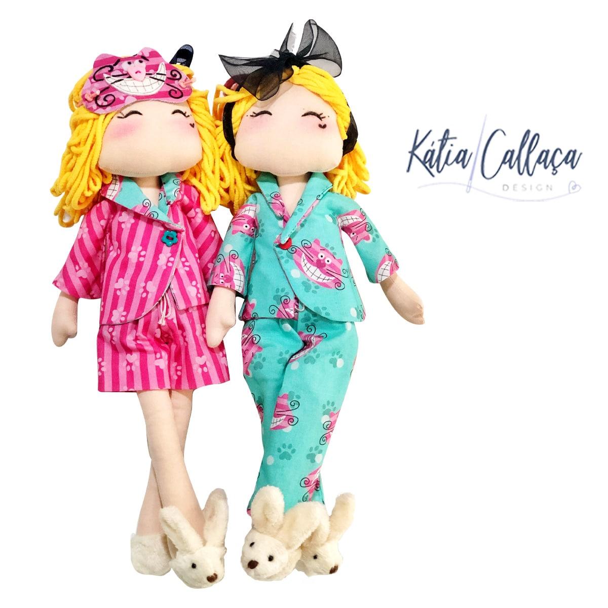 Bonecas Alice Festa Do Pijama