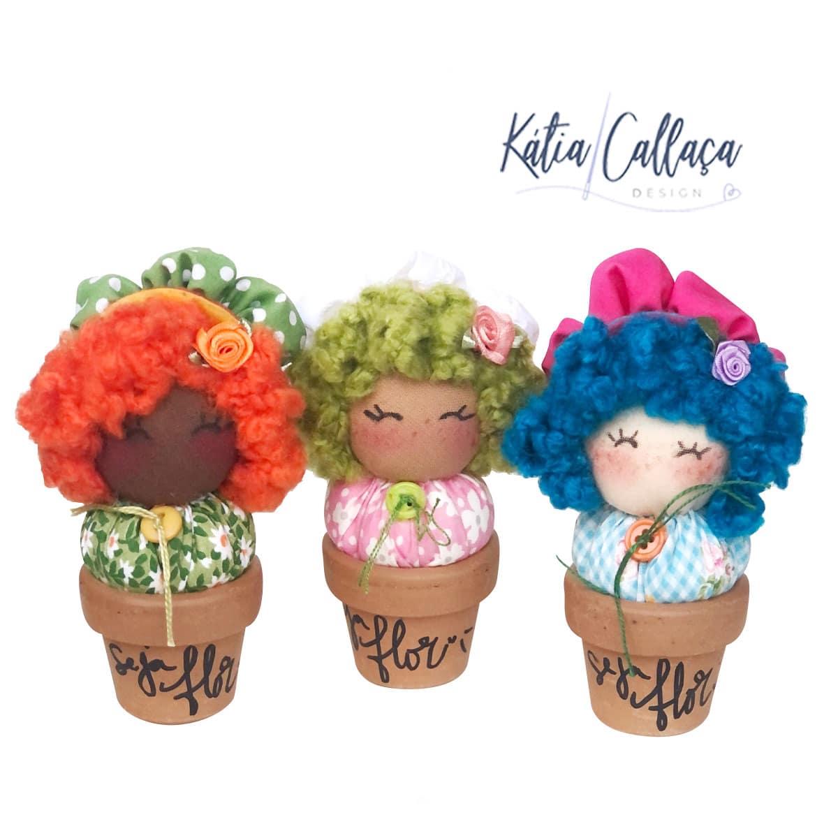 Trio De Brotinhos De Flor